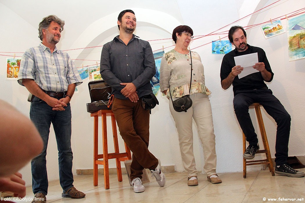 Szegedi Csaba, Arany Gold Zoltán, Pálné Hencz Teréz és Czinki Ferenc