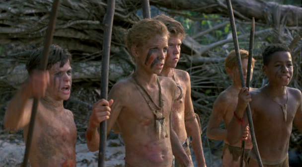 Az 1990-es filmváltozat egyik jelenete, R: Harry Hook