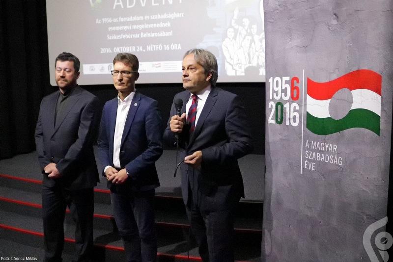 Vargha Tamás, Székesfehérvár országgyűlési képviselője az ünnep jelentőségét méltatta