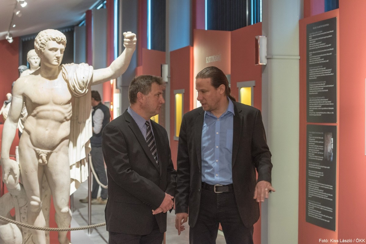 Megnyílt a Pompeji-kiállítás Gorsiumban