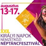 A XXII. Királyi Napok Nemzetközi Néptáncfesztiválra készül a város