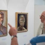 Önarcképek – kiállítás, torta és ünnep a Pelikánban