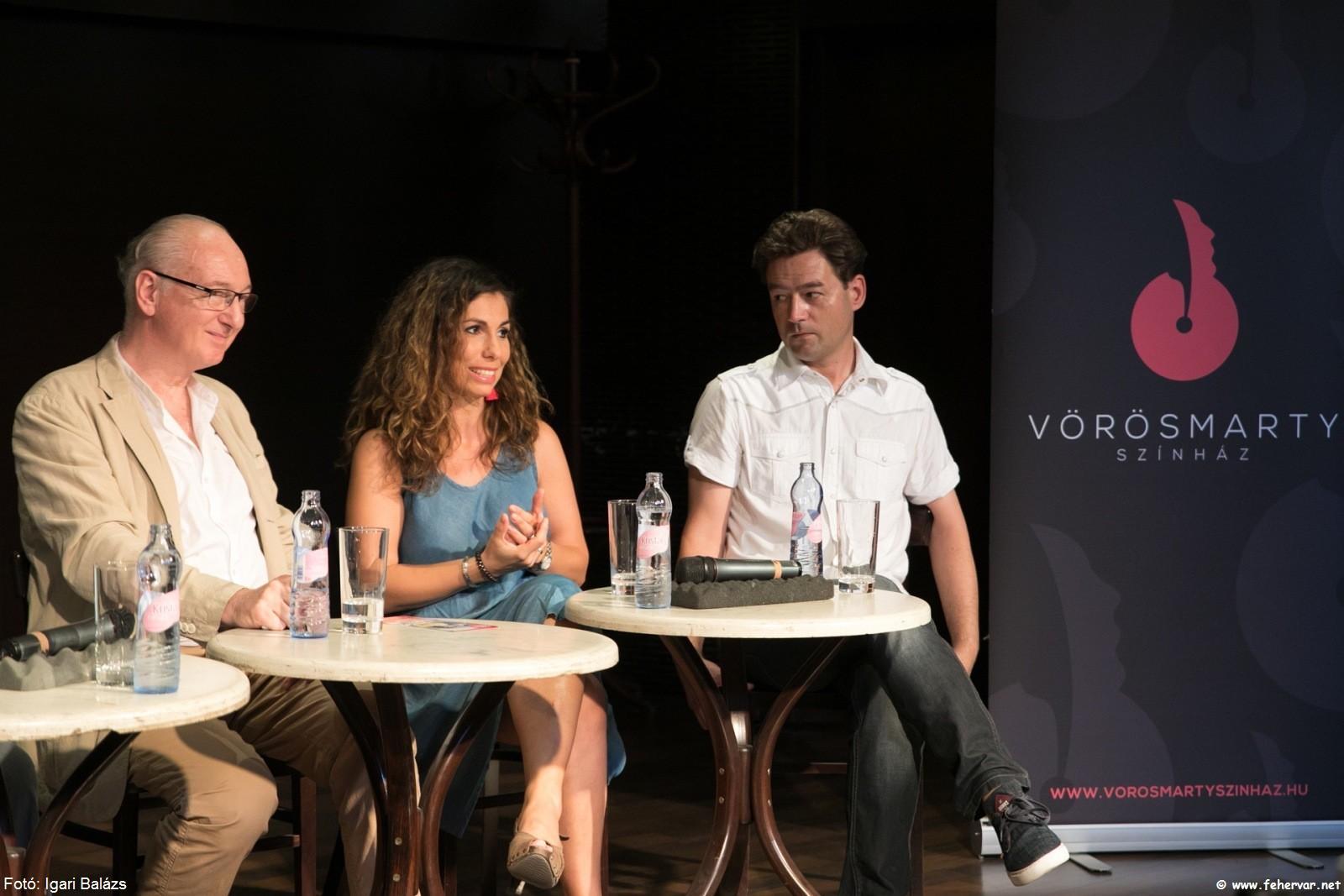 Váradi Eszter Sára és Keller János, a történet főszereplői